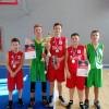 Спортивными соревнованиями отпраздновали юбилей родного города воспитанники отделения баскетбола Спортшколы № 2