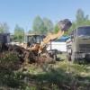 Стартовали работы по расчистке территорий для новых детских игровых площадок в Тынде