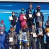 Юные горнолыжники закрыли сезон соревнованиями