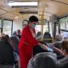 Мэр Тынды Марина Михайлова лично проверяет соблюдение масочного режима в общественном транспорте, точках общепита и магазинах в свой обеденный перерыв
