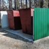 В Тынде идут работы по обустройству новых контейнерных площадок