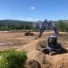 На территории школы № 7 продолжается строительство стадиона