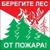 Защитить леса и населенные пункты от пожаров – обязанность каждого!