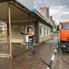 В Тынде продолжается дезинфекция общественных мест