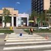 В столице БАМа обновляют пешеходные переходы