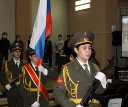 В Тынде прошло торжественное мероприятие, посвящённое проводам призывников в ряды Российской Армии