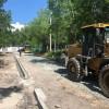 На двух тындинских придомовых территориях ведутся ремонтные работы