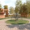 Визуализация будущего сквера возле Детской музыкальной школы города Тынды