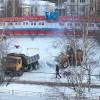 В Тынде продолжается усиленная чистка городских дорог