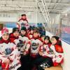 Хоккеисты нашей спортшколы возвращаются с соревнований в Комсомольске-на-Амуре с бронзовыми медалями.